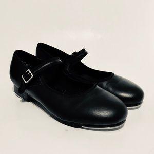 CAPEZIO Women's Tap Shoes 8 M Mary Jane Black